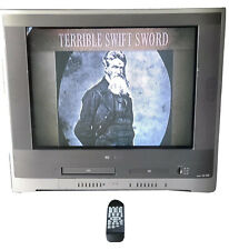 Toshiba Mw27F51 Tv Dvd Vcr Combo w 4 In 1 Media Card Gaming 27�