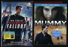 025192285769 Tom Cruise THE MUMMY, MI FALLOUT BLU-RAY & DVD