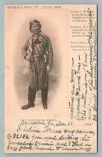 Thos. Cook PALESTINE Dragoman ST. LOUIS World's Fair Expo PMC Antique 1904