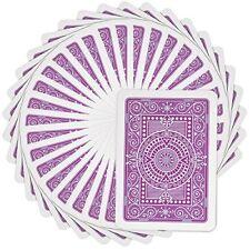 Modiano Texas Poker Plastic Playing Cards, Poker Size, Jumbo Index, Purple