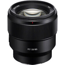 Sony FE 85mm F1.8 SEL85F18 Lens Brand New