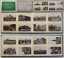 Victoria-Album von Berlin 48 Ansichten Hauptstadt Leporello um 1875 mit Karte xz