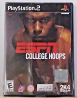 ESPN College Hoops (Sony PlayStation 2, 2003) tested manual included