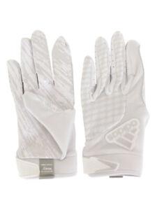Adidas Men's adiFAST-2.0 White/White Football Gloves