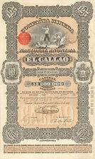 Venezuela, Compania Minera Nacional El Gallao, accion, Ciudad Bolivar, 1887
