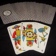 Ancien Tarot de Marseille ésotérique dos sphinx chiffres arabes et textes latins