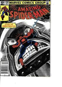Amazing Spider-Man 230 Juggernaut Fine- 1982 Glossy