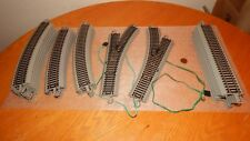 Lot Used Bachmann HO Scale 1:87 EZ Track~Model Railroad Train Track & Switch
