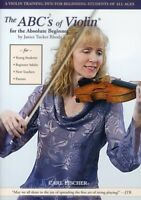 ABC's of Violin for the Absolute Beginner [New DVD]