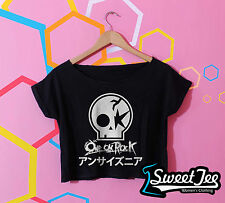 One Ok Rock Logo Japanese rock band Womens Shirt Crop Top Tee Cotton 2colors