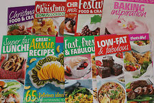 Cook Books 18 mixed Over 1500 recipes  A5 size from magazines.See photos. (C394)