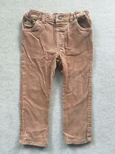 John Lewis Baby Boy Brown Cord Trousers Size 18-24 Months