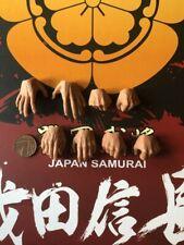 COO Models Japan Samurai Oda Nobunaga Hands x 8 loose 1/6th scale