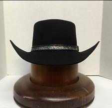 Stetson® 4X Revenger Black Felt Hat With Free Hat Brush