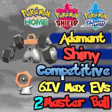 Shiny Meltan & Melmetal Bundle 6IV Max EVs / Pokemon Home Sword & Shield Adamant