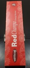 Nitiraj Red Champa Energy Incense 1 Hour Burn Time All Natural