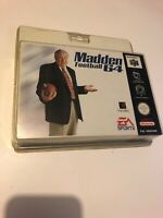 😍 nintendo 64 n64 neuf blister rigide madden football new factory sealed pal f