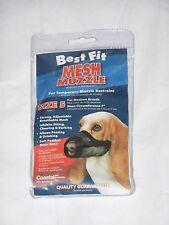 Size 5 Medium Breeds Male Female Puppy Dog Pet Adjustable Mesh Breathable Muzzle