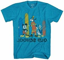 New listing Disney Big Boys' Mickey Mouse, Donald Duck and, Turquoise Heather, Size X-Large