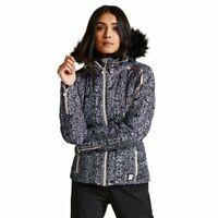 Dare2b Convolute Women's Waterproof Breathable Ski Jacket Coat Black 18