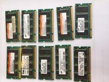 LOT DE 10 Barettes mémoire 256 Mb RAM PC2700S ddr-333-mhz