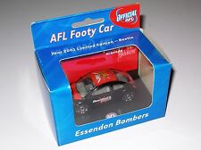 Essendon Bombers VW New Beetle - 2001 - 1:55 scale Diecast AFL Club Car