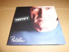 PHIL COLLINS  TESTIFY / CD EDITION DIGIPACK CARTONNE / CD 12 TITRES