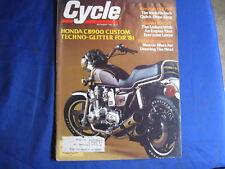 CYCLE MAGAZINE-SEPT 1980-CB900-SUZ PE400T-KAW KZ750E1-KENT HOWERTON-VINTAGE