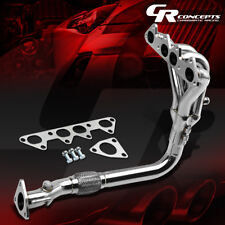 4-1 STAINLESS RACING HEADER MANIFOLD/EXHAUST FOR 98-02 HONDA ACCORD 2.3L F23 CG