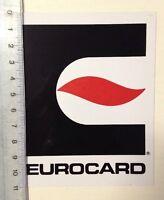 Aufkleber/Sticker: Eurocard (03031687)
