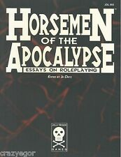 Horsemen of the Apocalypse - Essays on Roleplaying by the Masters of RPGs  *FS