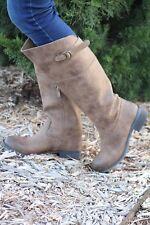 Very Volatile | Carmi Riding Boot Brown