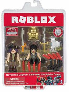 Roblox neverland lagoon: Salameen the Spider queen figurine with Exclusive Code