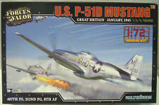 P-51D Mustang ,1:72,Forces of Valor, Plastik,*NEU*