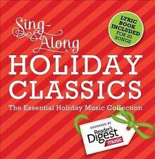 V/A-Sing Along Holiday Clas...-`Drifters,Brenda Lee,Pat Boone,Lynn Anders CD NEW
