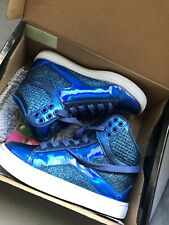 Pastry Girls Pop Tart Glitter Blue Shoes Size 12 Hip Hop Dance EUC