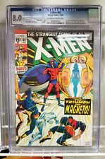 X-MEN #63 ('68) CGC 8.0 OW/W 1ST APPEARANCE OF LORELEI NEAL ADAMS MAGNETO