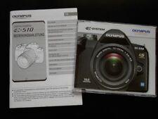 Olympus Anleitung E-510 Bedienungsanleitung E 510 Handbuch + DVD Neu