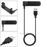 USB Cable Date Charging Charger Cradle Dock Fr Garmin Forerunner GPS Smart Watch