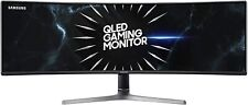 "SAMSUNG 49"" 5120 x 1440 CURVED 120Hz 4ms FREESYNC LC49RG90SSNXZA MONITOR"