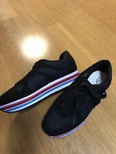 Esprit Sneaker Plateau dicke Sohle Schuhe schwarz Gr. 41 NEU