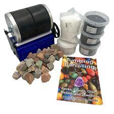 More details for rock tumbler - 3lb pro double barrel stone tumbler  ✔british made ✔uk seller