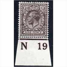 Lightly Hinged Great Britain Edward VII Stamps