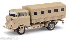 Busch 95155, ESPEWE: IFA W50L Fp »Irak«, Sable, H0 Véhicule Modèle 1:87