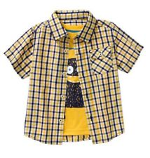 Healthtex Toddler Boy Woven Shirt & Graphic Tee Set, Size: 3T  Sunray Yellow