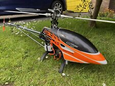 Thunder Tiger Raptor 50 V2  Titian RC Helicopter Loads Of Upgrades Excellent Con