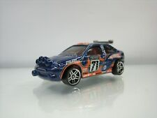 Diecast Hot Wheels Ford Escort Rally 1998 Blue Good Condition