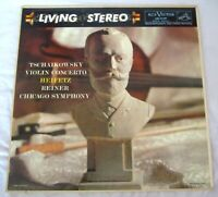 Tchaikovsky Violin Concerto Heifitz RCA LSC 2129 Living Stereo Shaded Dog 8s17s
