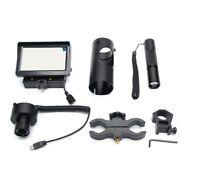 "Upgrade 5"" HD Screen DIY Digital Night Vision Scope Camera Add On 850nm IR Torch"