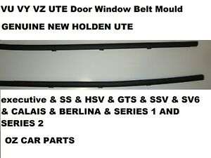 HOLDEN VU VY VZ UTE COMMODORE Outer Door Weather Window Rubber Seal GENUINE NEW